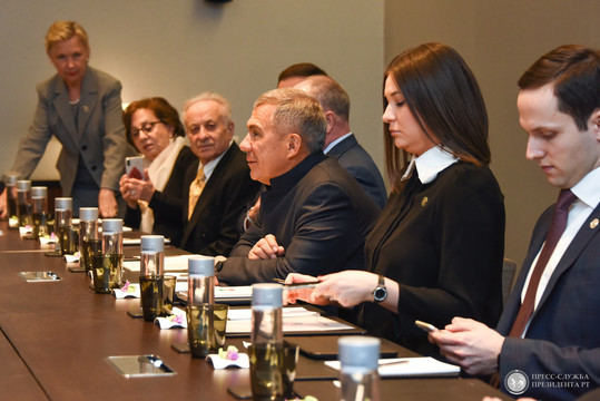 Минниханов прилетел в Нью-Йорк и выступит в ООН