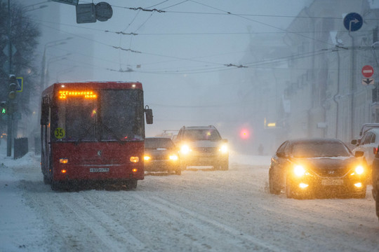 В Татарстане ожидается снег и сильный ветер