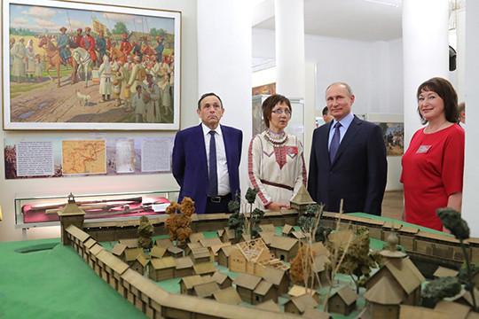 Путин обсудит реализацию государственной политикиРФ вЙошкар-Оле