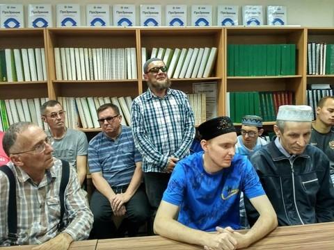 В мечети «Ярдэм» стартовали последние курсы для незрячих