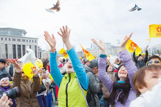 «Справедливая Россия» приглашает всех на праздничный концерт, который пройдет 1 мая в Казани