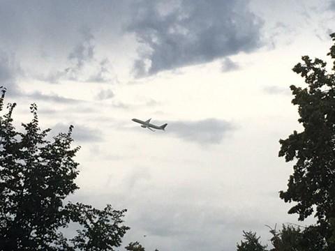 В небе над Казанью заметили бомбардировщики
