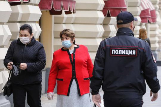 В России установлен новый антирекорд по числу зараженных COVID-19