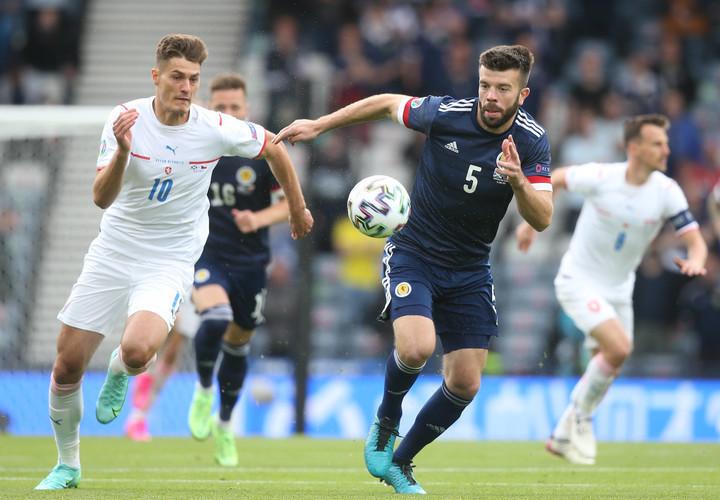 Гол Патрика Шика в ворота Шотландии признан лучшим на Евро-2020