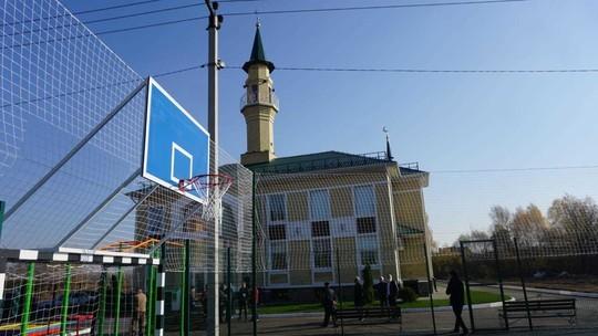 В селе Усады Лаишевского района открылась «спортивная» мечеть