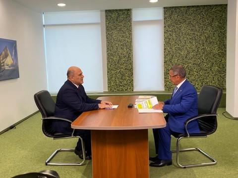 Мишустин провел встречу с Миннихановым и Шаймиевым