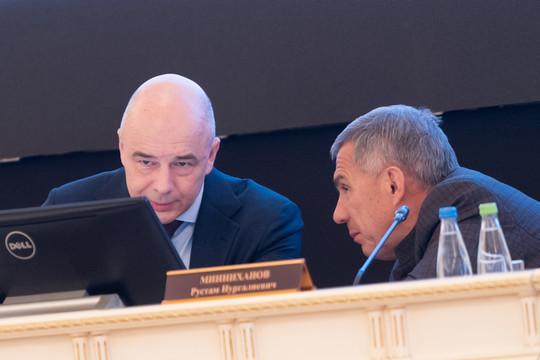 Силуанов в Казани: «Принято решение о реструктуризации кредитной задолженности Татарстана»