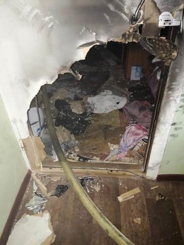 В Нижнекамске мужчина спас из пожара своих соседей