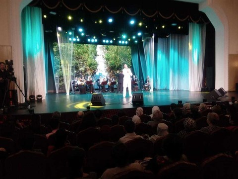 В Казани проходит концерт, посвященный памяти легенды татарской эстрады Ильгама Шакирова