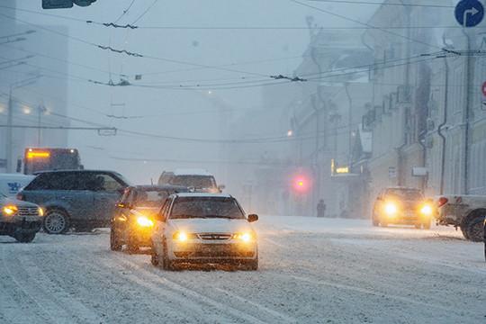 Госавтоинспекция Татарстана предупреждает водителей огололедице