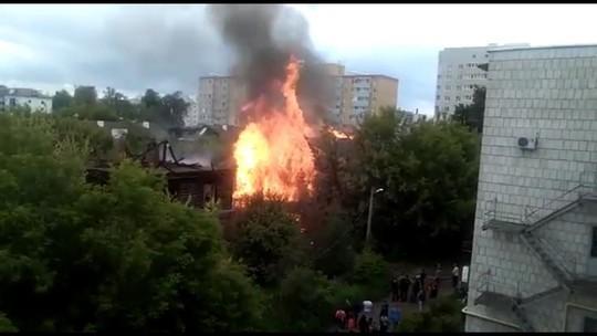 В Зеленодольске опять горят «Полукамушки»