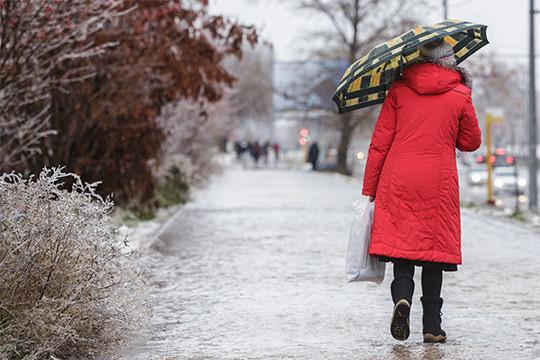 ВТатарстане пройдет ледяной дождь