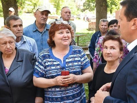 Метшин оценил ход капремонта домов на улице Тинчурина в Казани