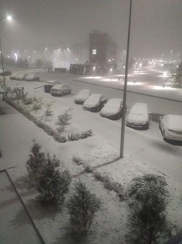 В Казани выпал первый снег