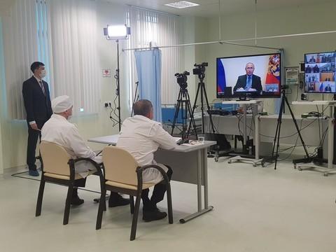 Путин провел новое совещание по COVID-19 с участием Минниханова. Главные тезисы