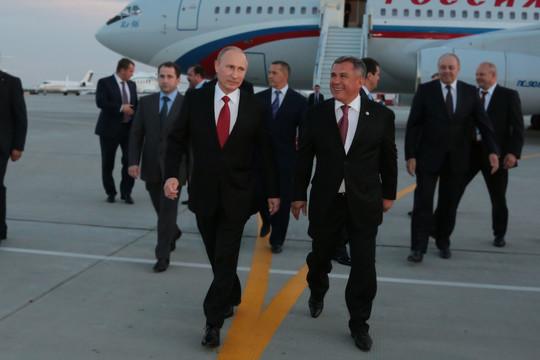 Минниханов рассказал, как познакомился с Путиным