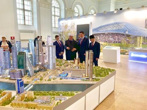 На форуме в Москве представили проект будущего межрелигиозного культурно-просветительского центра