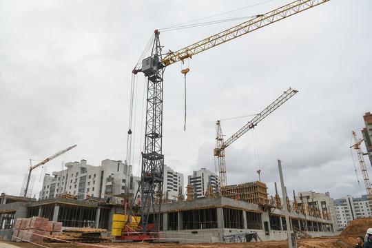 Шаймиеву показали стройку новой полилингвальной школы в Казани