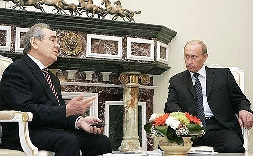 Шаймиев рассказал о разговоре с Путиным перед уходом с поста президента РТ