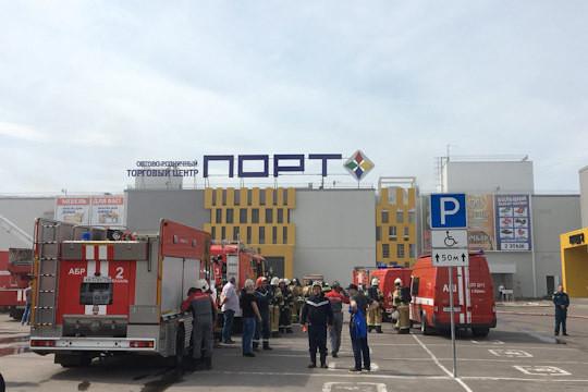 ТЦ «Порт» вКазани оказалось нечем тушить