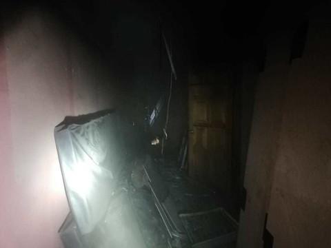 В Альметьевском колледже физкультуры ночью произошел пожар