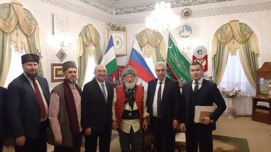 Генконсул Турции в Казани встретился в Уфе с Радием Хабировым и Талгатом Таджутдином