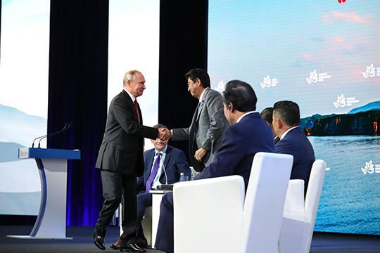 Предложения В.Путина помирному контракту сЯпонией помогут решить эту проблему— МИД