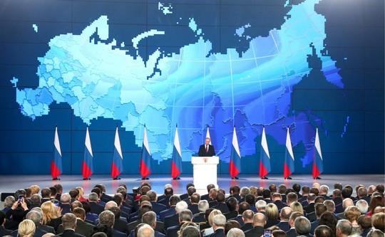 «Ряд конституционных поправок»: Путин впослании обозначил основные задачи наближайший год