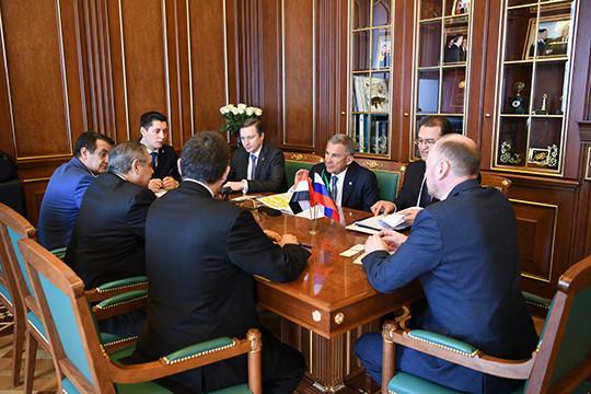 Татарстан готов посодействовать расширению сотрудничества Российской Федерации иЕгипта