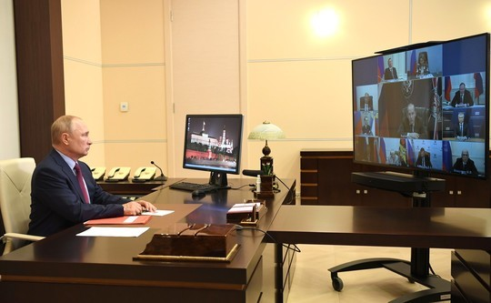 Путин собрал оперативное совещание с постоянными членами совбеза из-за ситуации в Беларуси