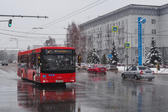 В Татарстане прогнозируют мокрый снег и сильный ветер до 18 м/с