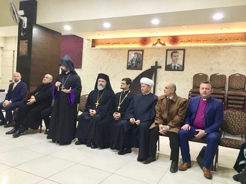 Российская межрелигиозная рабочая группа раздала гумпомощь нуждающимся в Дамаске