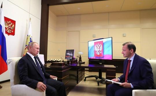 Интервью Путина: главные тезисы про Беларусь и «коронакризис»