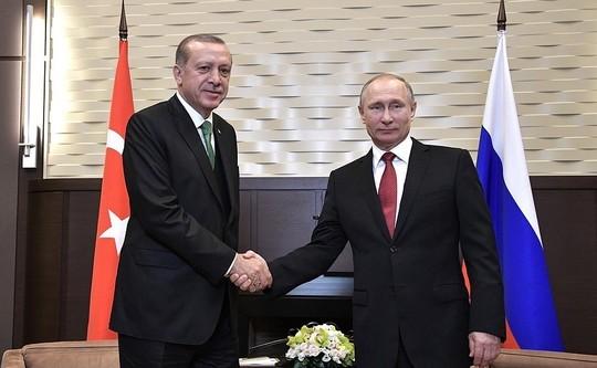 Путин иЭрдоган обсудят вопросы военно-технического сотрудничества