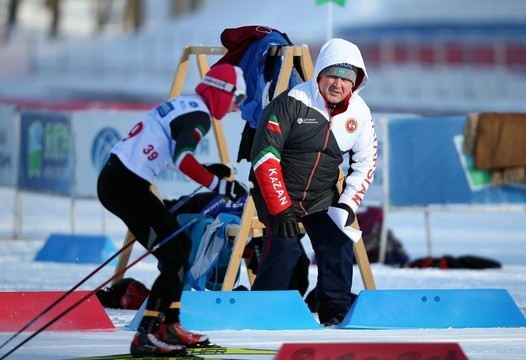 Президент федерации лыжных гонок и биатлона РТ Ильшат Фардиев прибыл в Сыктывкар на финал Кубка России