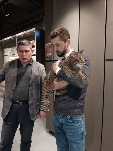 Директор музея-заповедника Свияжск провел экскурсию для кота Виктора