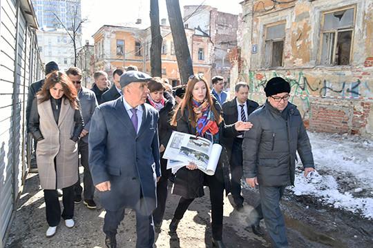 Минниханов поручил отреставрировать центр Казани