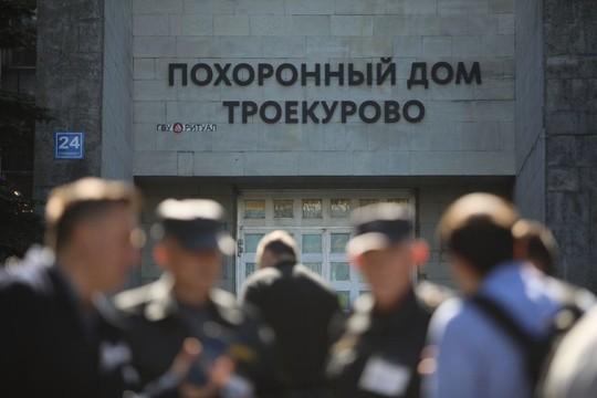 Медиаэлита простилась с Сергеем Доренко – первые фотографии