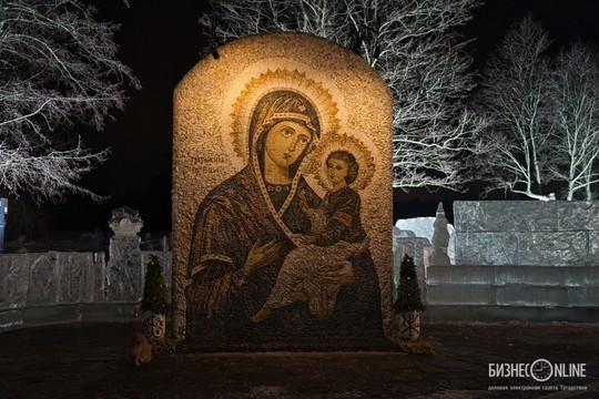 Как прошли крещенские купания в Татарстане: фоторепортаж