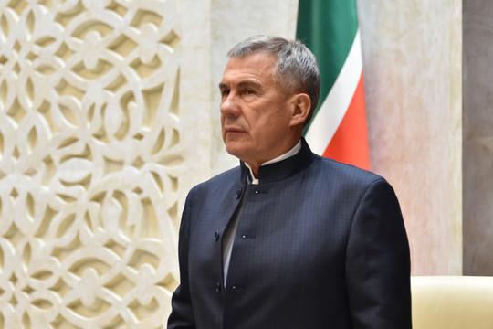 Минниханов ввел особый режим в Татарстане из-за коронавируса