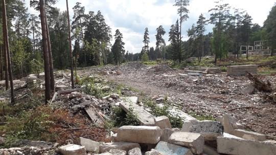 На месте снесенного санатория в Елабуге образовалась свалка площадью 10 тыс. кв. метров