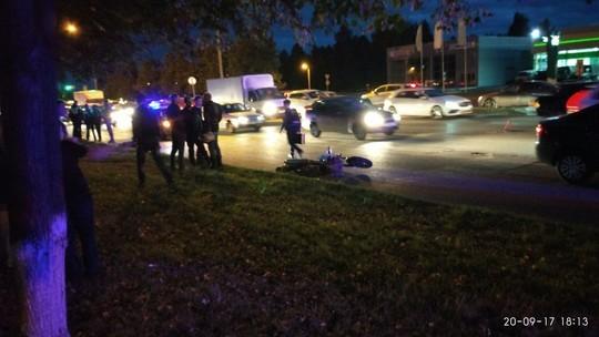 ВТатарстане женщина на Шевроле насмерть сбила мотоциклиста