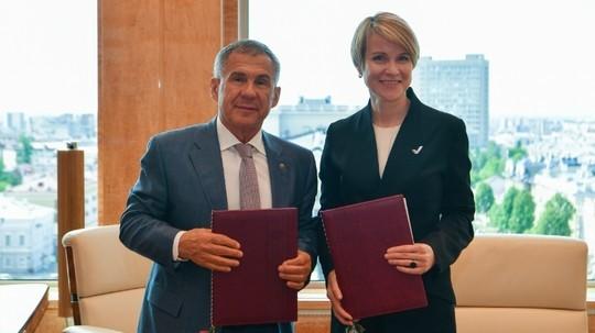 В Татарстане подписано соглашение о создании центра для одаренных детей «Сириус»