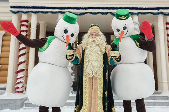 Кыш Бабай вошел втройку самых известных русских Дедов Морозов