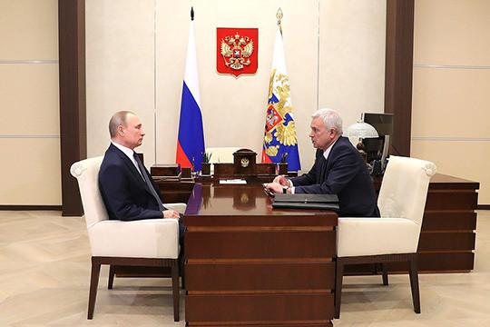 Алекперов поведал Путину опланах построить комплекс за120 млрд руб