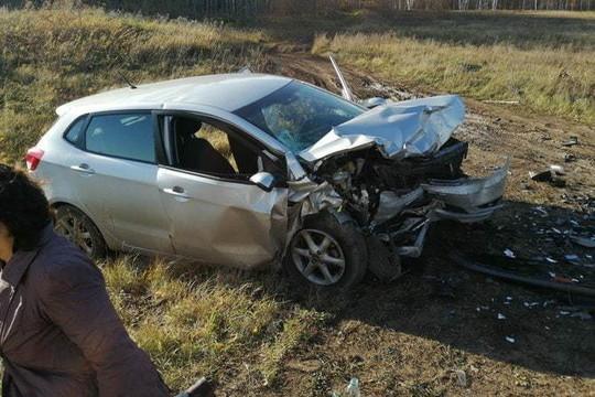 Момент страшного ДТП на трассе в Татарстане попал на видео: в лобовом столкновении погиб ребенок