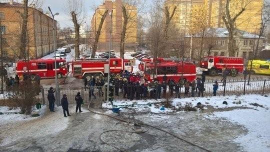 Вказанской школе №32 произошел пожар, учащиеся и работники эвакуированы