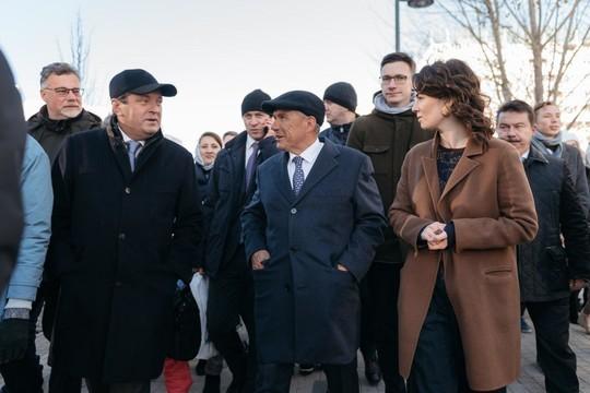 В Казани появилось новое общественное пространство – бульвар «Белые цветы»