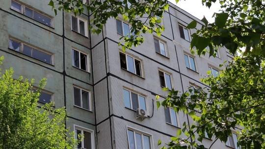 Жильцов девятиэтажки в Казани эвакуировали из-за пожара