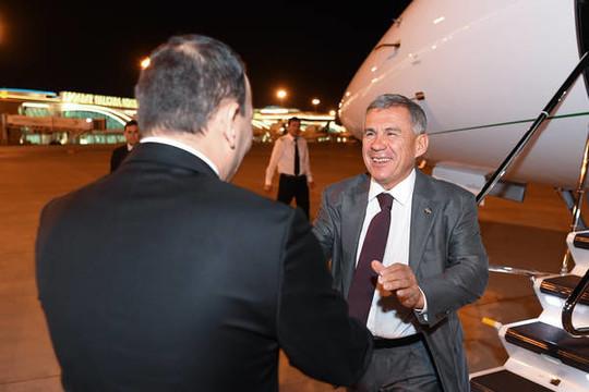 Назарбаев провёл рабочую встречу сБердымухамедовым наиграх «Ашгабат 2017»